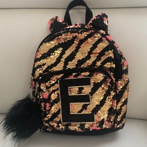 🎉HOST PICK🎉 Justice Girls Mini Sequins Backpack